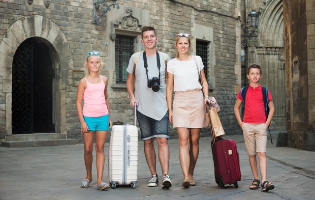 楽しかった家族旅行